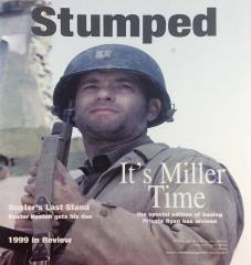 "Vol. 3, #1 ""1999 in Review, It's Miller Time, Buster's Last Stand"""
