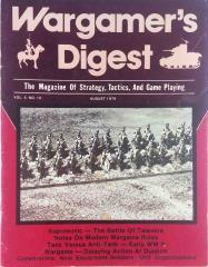 "Vol. 5, #10 ""The Battle of Talavera, Modern Wargaming"""