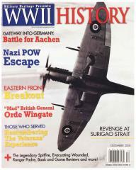 """Vol. 7, #7 """"Battle for Aachen, Nazi POW Escape, Remembering the Veterans' Experience"""""""