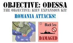 Objective Kiev - Objective Odessa, Romania Attacks! Expansion Kit