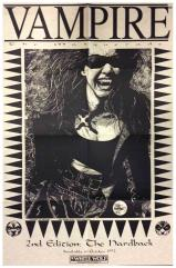 Vampire - the Masquerade 2nd Edition Hardcover Promo Poster