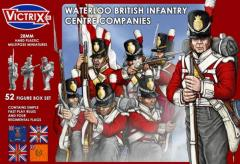 Waterloo British Infantry - Center Companies