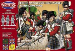 British Napoleonic Highlanders - Flank Companies