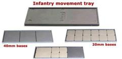 120mm x 40mm Infantry Movement Trays