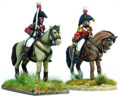 British Mounted Peninsular Colonels & Foot Pioneer