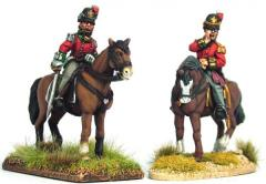 British Mounted Waterloo Colonels & Foot Pioneer