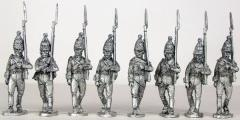 Russian Pavlovski Grenadiers Marching 1805-1808