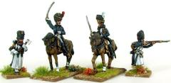 Old Guard Mounted Grenadier & Chasseur Colonels and Foot Pioneers
