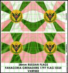 Flag Sheet - Fanagoria Grenadiers 1797