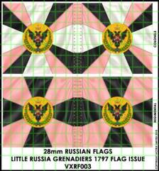 Flag Sheet - Little Russia Grenadiers 1797