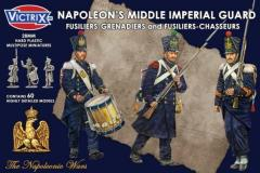 Napoleon's Middle Imperial Guard - Fusiliers-Grenadiers & Fusiliers-Chasseurs