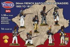 French Napoleonic Grenadiers - 1805 to 1812
