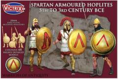 Spartan Armored Hoplites - 5th to 3rd BC