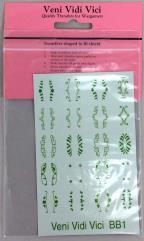 Mixed Shield Designs - Green