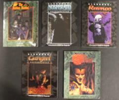 Vampire - The Masquerade Player's Starter Pack, 5 Books!
