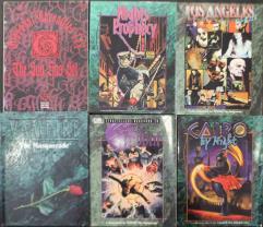 Vampire - The Masquerade Storyteller's Starter Collection - 10 Books!