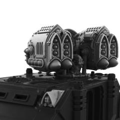 Imperial W-Wind Missile Launcher Turret