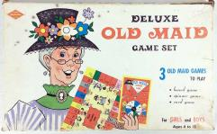 Deluxe Old Maid Game Set