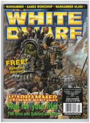 "#250 ""Warhammer Playsheet, Orcs of the Iron Claw Tribe, Dogs of War, Empire Army"""