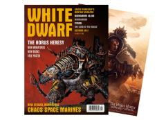 "#394 ""Chaos Space Marines, The Horus Heresy, Includes Free Horus Heresy Poster"""