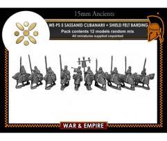 Clibanarii Cavalry w/Shield & Felt Armored Horses