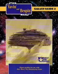 Galaxy Guide #2 - Yavin and Bespin (1st Edition)