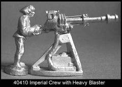 Imperial Crew with Heavy Blaster