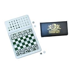 Magnetic Checkbook Chess Set
