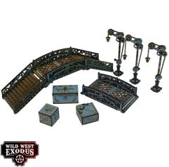 Red Oak - Bridge Set