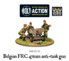 Belgian FRC 47mm Anti-Tank Gun