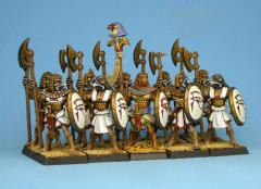 Heru Unit w/Pole-Arms & Shields