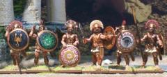Greeks in Heavy Armor - Hoplites/Spartans