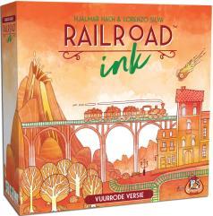 Railroad Ink - Blazing Red (Dutch Edition)