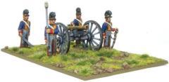British Royal Horse Artillery 6 Pounder Cannon