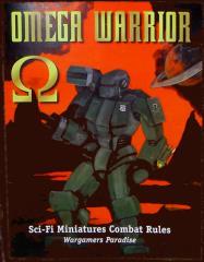 Omega Warrior - Sci-Fi Miniatures Combat Rules