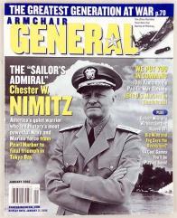 "Vol. 2, #6 ""The Sailor's Admiral - Chester W. Nimitz"""