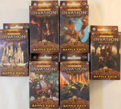Warhammer Invasion - The Capital Cycle Battle Packs Collection