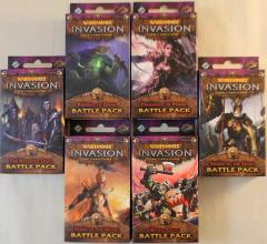 Warhammer Invasion - The Bloodquest Cycle Battle Packs Collection