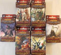 Warhammer Invasion - The Enemy Cycle Battle Packs Collection