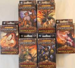 Warhammer Invasion - Eternal War Cycle Battle Packs Collection