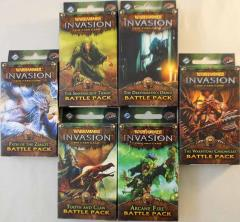 Warhammer Invasion - The Corruption Cycle Battle Packs Collection