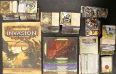 Warhammer Invasion Collection - Base Game + Expansion & 4 Battle Packs!