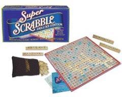 Super Scrabble - Deluxe Edition (1st Edition)