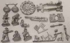 British 25 Pounder Howitzer & Limber