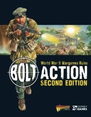 Bolt Action - WWII Wargame Rules (2nd Edition, Mini Rulebook)