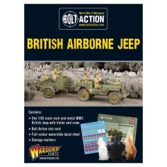 Airborne Jeep w/Trailer