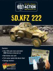 SD. KFZ 222 Armored Car (2nd Printing)