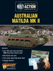 Australian Matilda MK 2 Tank