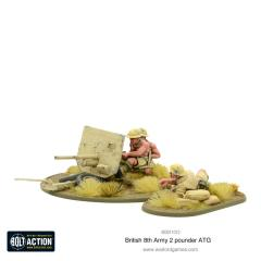 British 8th Army 2 Pounder ATG