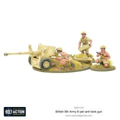 British 8th Army 6 Pounder ATG